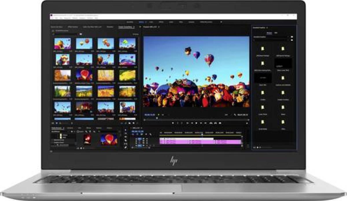 Bild 2 von HP ZBook 15u G5 39.6 cm (15.6 Zoll) Workstation Intel Core i5 8 GB 256 GB SSD AMD Radeon Pro WX 3100 Windows® 10 Pro G