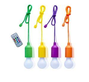 Bulbs Ziehlampe mit Farbwechsel, 4er-Set