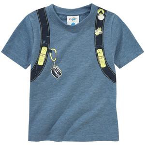 Jungen T-Shirt mit Rucksack-Print