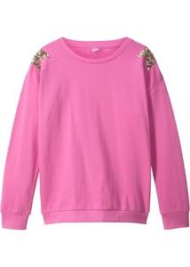 Sweatshirt mit Paillettensternen