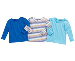 impidimpi Basic-Langarmshirt, 3 Stück