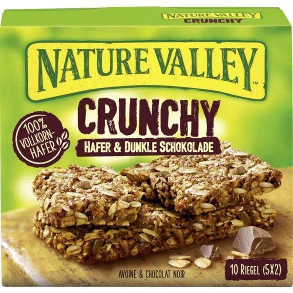 Nature Valley Crunchy Müsliriegel Hafer & Dunkle Schoko 0.95 EUR/100 g