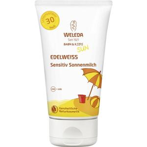 Weleda Baby & Kids Sun Edelweiss sensitiv Sonnenmilch 13.30 EUR/100 ml