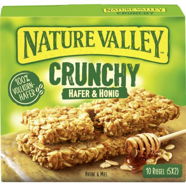 Nature Valley Crunchy Müsliriegel Hafer & Honig 0.95 EUR/100 g
