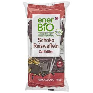 enerBiO Bio Reiswaffeln Zartbitter