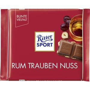 Ritter Sport Rum Trauben Nuss Tafelschokolade
