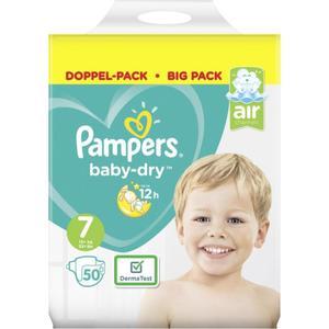 Pampers Baby Dry Windeln Doppel-Pack Gr. 7, 15+ kg