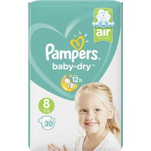 Pampers Baby Dry Windeln Gr. 8, 17+ kg