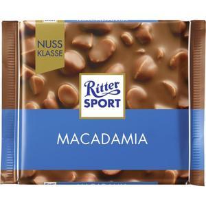 Ritter Sport Macadamia Tafelschokolade