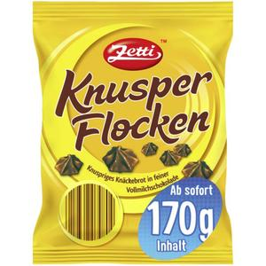 Zetti Knusper Flocken 0.88 EUR/100 g