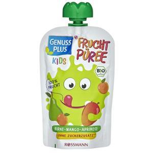 GENUSS PLUS Kids Bio Fruchtpüree Birne-Mango-Aprikose (10 x 100.00g)