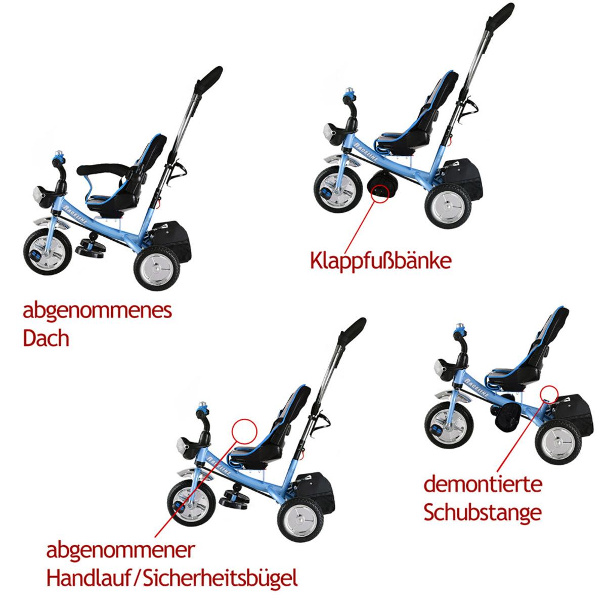 Bild 3 von Deuba Kinderdreirad - Blau