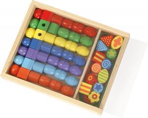 LENA® Super Beads Holzfädelperlen (FSC100%)