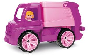 LENA® Truxx Müllwagen, rosa