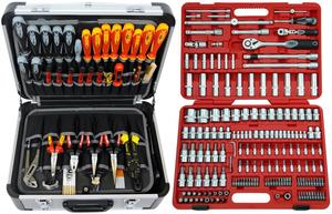 FAMEX 414-20 Alu Werkzeugkoffer Set