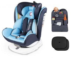 Lionelo Auto Kindersitz mit Isofix in blau