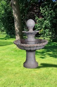 Harms Brunnen 2 stöckig mit Kugel TREVISO