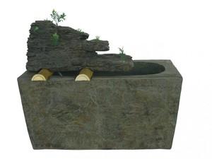 Harms Brunnen NEPTUN aus Polyresin für