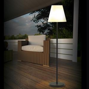 EASYmaxx Solar-Standleuchte Out-& Indoor 5V schwarz