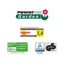 Bild 3 von Powertec Garden Benzin-Rasenmäher BW 56 Trike