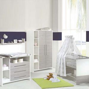 home24 Babyzimmer Eco Silber (3-teilig)