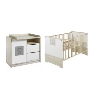 home24 Babyzimmer-Set Eco Slide