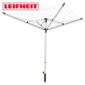 """Wäschespinne """"LinoLift 500"""" - Aluminium - ca. 50 m Trockenlänge - individuelle Einstellung der Leinenhöhe von 85 bis 180 cm"""