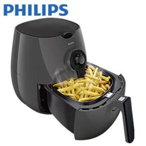 Heißluft-Fritteuse Airfryer HD9216/40 • frittieren, grillen, garen und backen ohne Öl (für frische Speisen reicht max. 1 EL Öl) • 800 g Fassungsvermögen • inkl. Zeit- und Temperaturregler
