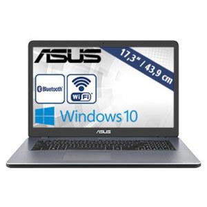 Notebook F705MA-BX813T • HD+-Display • Intel® Celeron® N4000 (bis zu 2,6 GHz) • Intel® UHD-Grafikkarte 600 • USB 3.1 Type-C, USB 3.0, USB 2.0 • HDMI