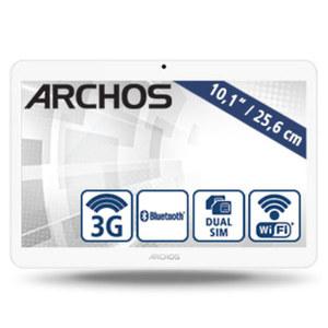 Tablet Access 101 3G · Quad-Core-Prozessor (bis zu 1,3 GHz) · 2 Kameras (0,3/2 MP) · microSD™-Slot bis zu 32 GB · Android™ 7.0