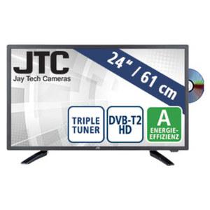 """24""""-FullHD-LED-TV/DVD Atlantis 2.4D · HD-/USB-/CI+-Anschluss · Stand-by: 0,5 Watt, Betrieb: 24 Watt · Maße: H 33,1 x B 56,4 x T 5,1 cm · Energie-Effizienz A (Spektrum A++ bis E)"""