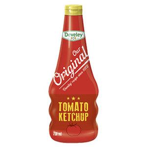 Develey Our Original Tomaten Ketchup jede 750-ml-Flasche