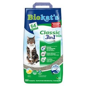 Gimborn Biokats Classic  Katzen-Klumpstreu versch. Sorten, jede 20-Liter-Packung