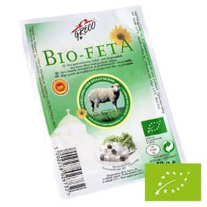 Greco Bio Feta Griechischer Schafskäse in Lake, 48 % Fett i. Tr.,  jede 150-g-Packung