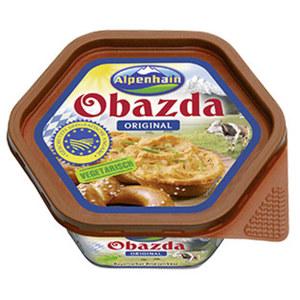 Alpenhain Obazda Bayrischer Biergartenkäse 50% Fett i. Tr. jede 125-g-Packung