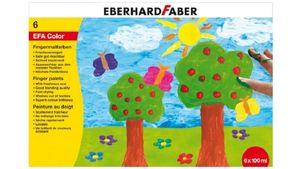 EBERHARD FABER Fingerfarbe 100 ml 6er-Schachtel