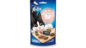 felix Katzensnack Mini-Filetti Leckere Hühnchen- & Lachs- Stückchen