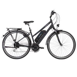 """Fischer E-Bike Trekking Damen 28"""" ETD 1801 in dunkelanthrazit matt"""