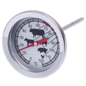 Grill- und Bratenthermometer 5,2 cm aus Edelstahl