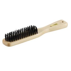 Holz Haarbürste mit Naturborsten