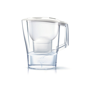BRITA <i>fill&enjoy</i> Wasserfilter 2,4 Liter in  Aluna-Weiß