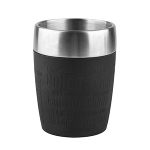 "Emsa Isolierbecher ""Travel Cup"" in Schwarz 0,2 Liter"