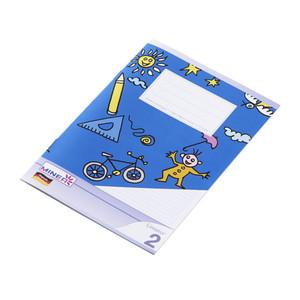 Minea Schulheft Nr. 2 DIN A5, 16 Blatt, liniert