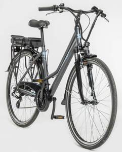 Zündapp Alu-Elektro-Trekkingrad Green 4.7, 21-Gang-Shimano-Kettenschaltung, 250 W und 10,4 Ah, 36 V Lithium-Ionen-Akku, 28er Damen