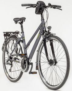 Zuendapp Alu-Trekkingrad Silver 5.0  24-Gang-Shimano-Deore-Kettenschaltung, STVZO, 28er Damen