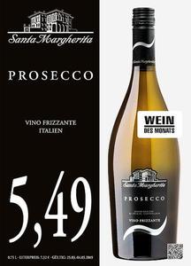 Santa Margherita Prosecco Vino Frizzante Italien