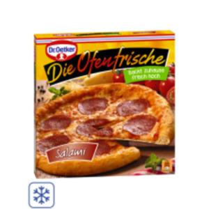 Dr. Oetker Pizza Die Ofenfrische oder Culinaria