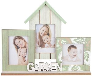 Bildergalerie - Haus - aus Holz - 36 x 5 x 29,5 cm