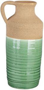 Vase - aus Keramik - 13 x 11 x 25,5 cm