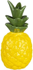Ananas - aus Keramik - 9,5 x 9,5 x 19 cm